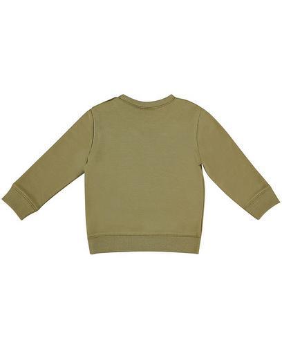 Sweatshirt mit Aufschrift