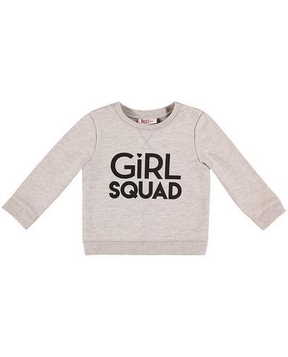 Sweater met opschrift