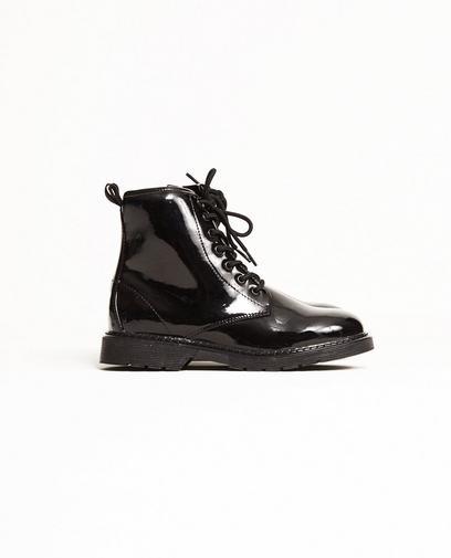 Lack-Biker-Boots