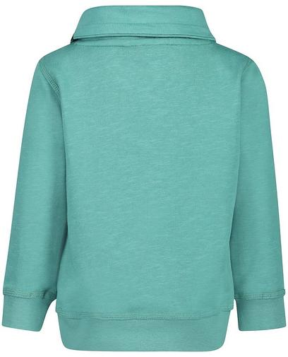 Jadegroene sweater