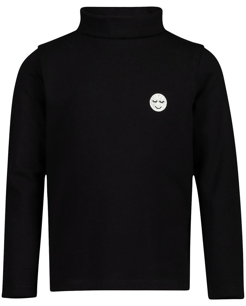 T-shirts - black - Pull col roulé, coton bio