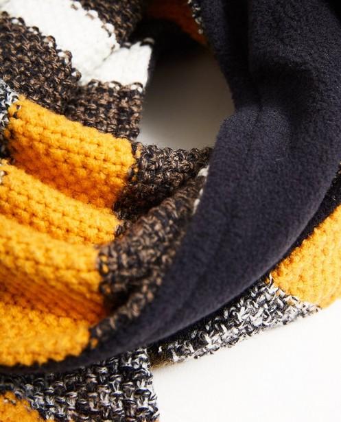 Bonneterie - navy - Écharpe et bonnet, 7-14