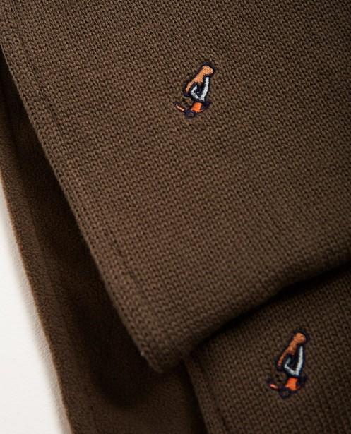 Strickware - Grün - Set aus Schal und Mütze