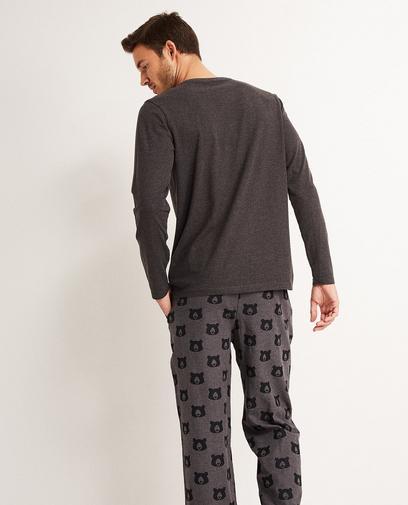 Pyjama gris foncé