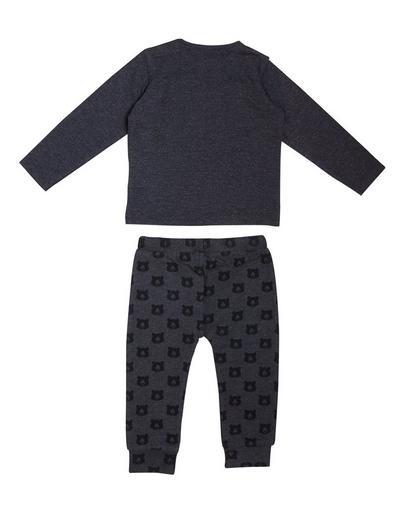 Dunkelgrauer Schlafanzug
