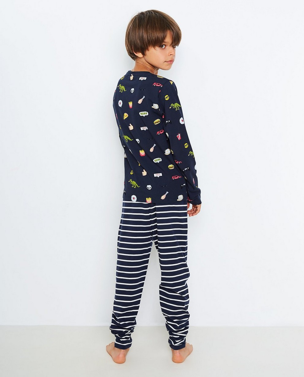 Nachtkleding - BLD - Nachtblauwe pyjama