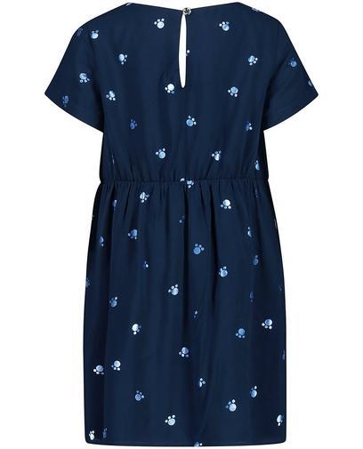 Robe bleu nuit en viscose