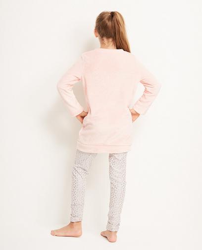 Roze-grijze pyjama