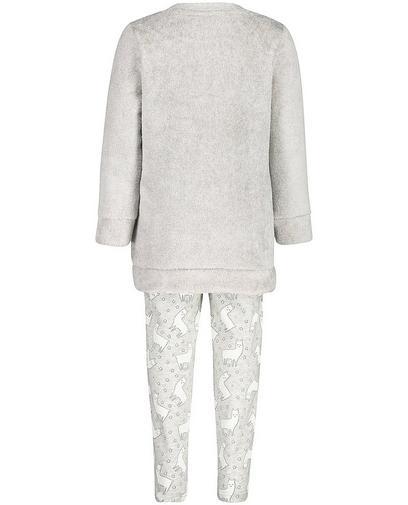 Pyjama gris clair, 2-7