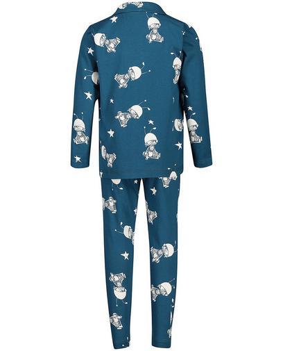 Pyjama bleu pétrole
