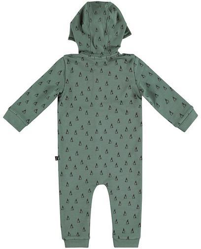 Blaugrüner Schlafanzug