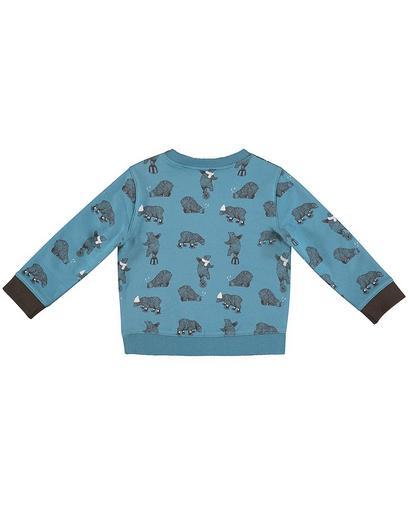Sweater met berenprint