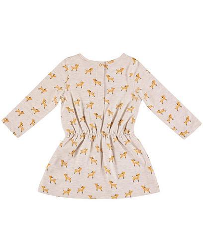 Lichtgrijze jurk
