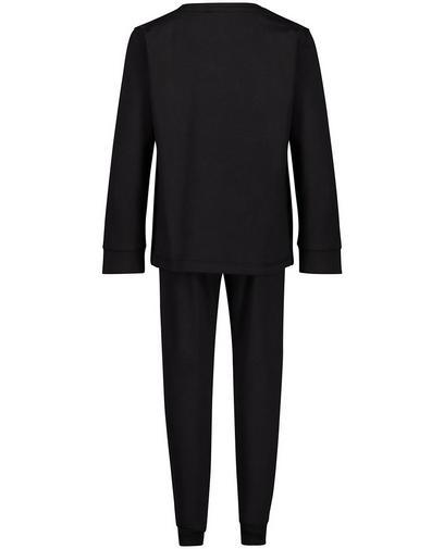 Schwarzer Schlafanzug