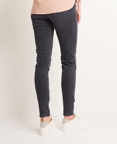 Donkergrijze jeans