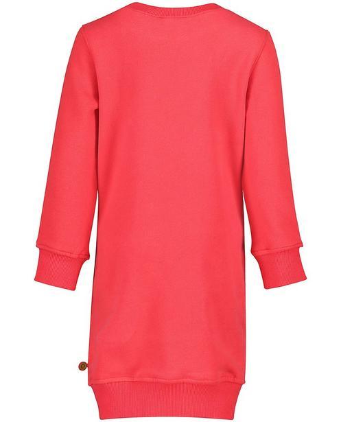 Robes - rood fel - Robe molletonnée