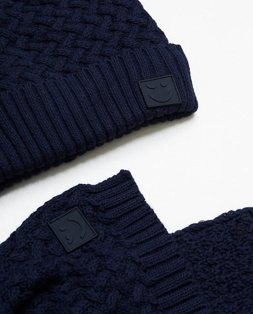 861d90449c6 Écharpe et bonnet - bleu foncé - JBC Bonneterie - navy - Écharpe et bonnet