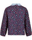 Hemden - BLD - Nachtblauwe viscose blouse