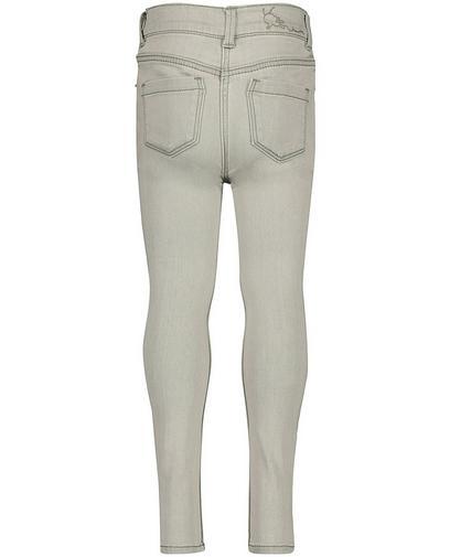 Lichtgrijze skinny jeans