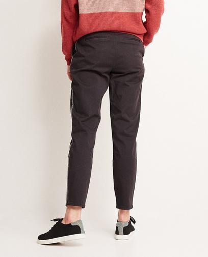 Donkergrijze broek