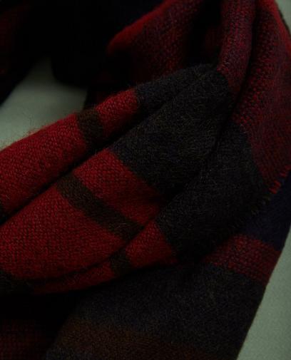 Écharpe rayée
