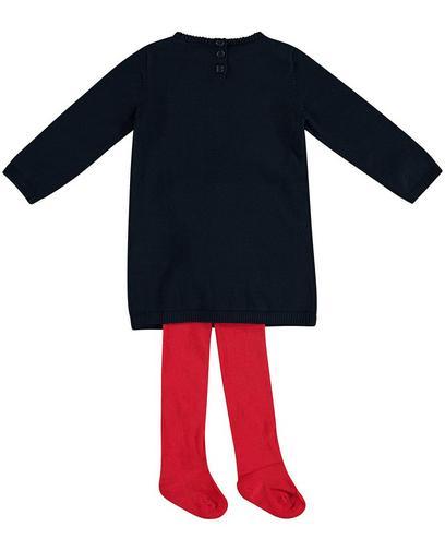 Set van jurk en kousenbroek