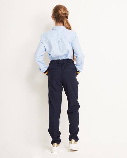 Nachtblauwe broek