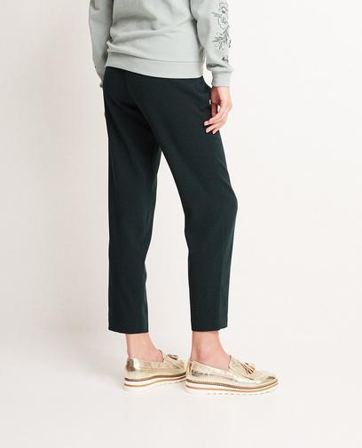 Donkergroene broek