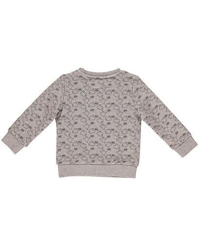 Sweater met spokenprint