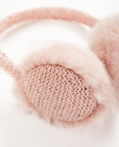 Ohrenwärmer mit Pailletten