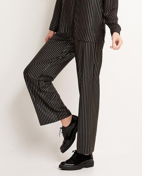 Broeken - Wijde zwarte broek