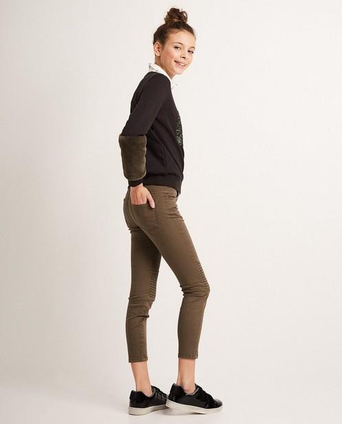 Pantalons - dark green - Skinny jeans