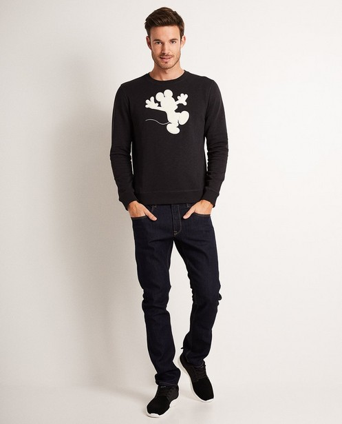 Schwarzer Sweater - Print von Mickey Mouse, Disney - Mickey
