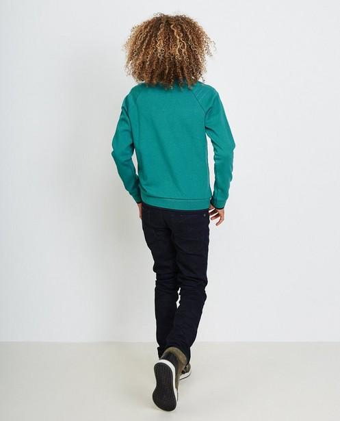 Sweaters - BLM - Turkooisblauwe sweater
