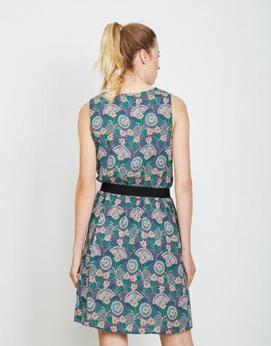 Blauw-groen kleedje