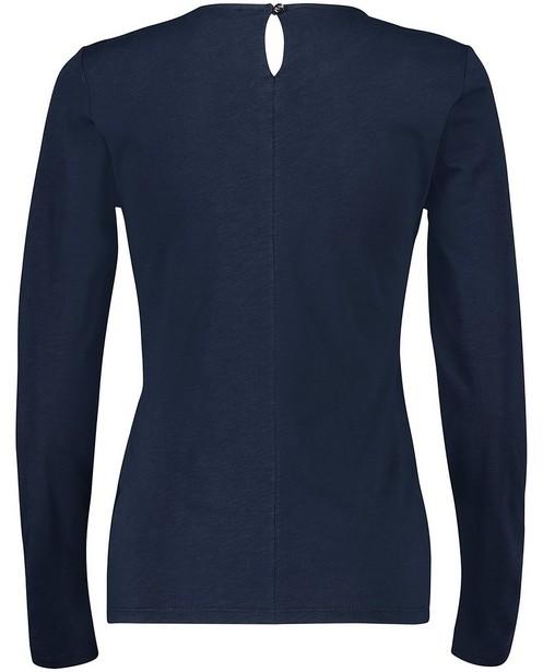 T-shirts - navy - T-shirt à manches longues