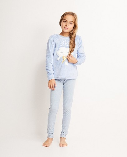 Fleece-Schlafanzug