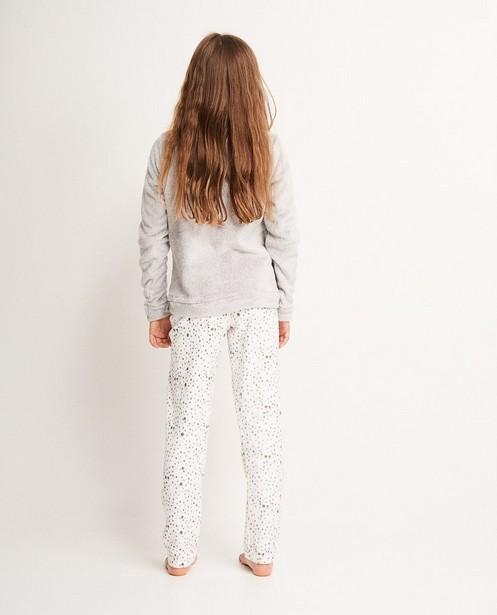 Pyjamas - light grey - Pyjama en fleece, 7-14