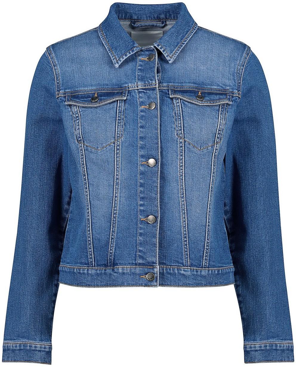Veste en jeans - délavée, modèle court - JBC
