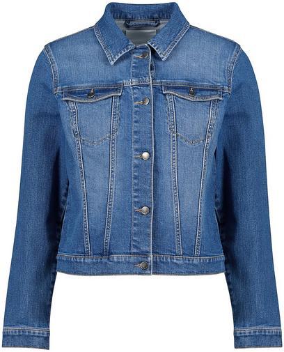 Washed jeansjasje