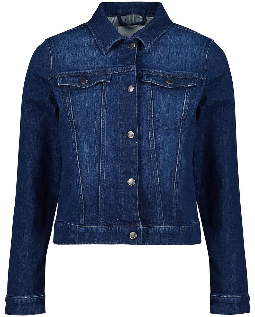Washed jeansjasje - kort model - JBC