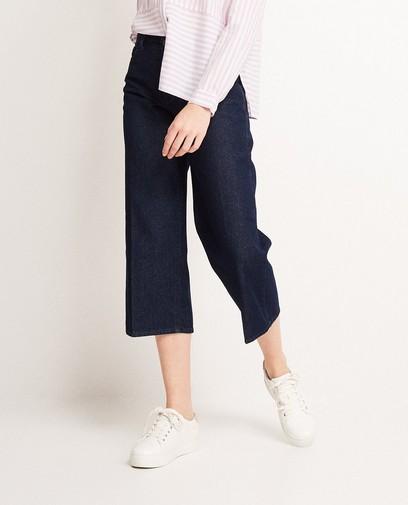 Jupe-culotte en jeans