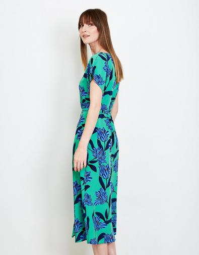 groene maxi jurk