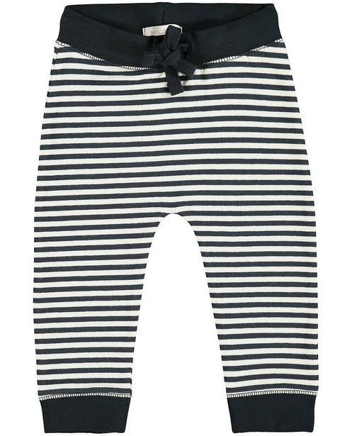 Pantalon molletonné - coton bio, taille élastique - JBC