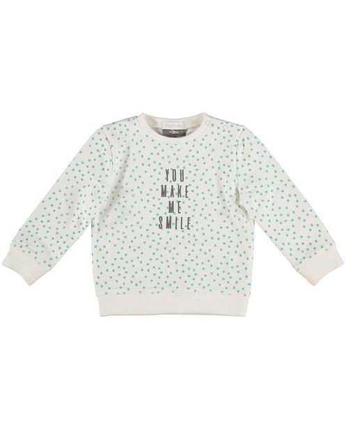 Sweater met print - van biokatoen - JBC NL