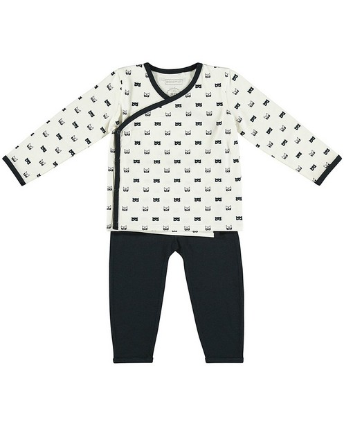 Set t-shirt et leggings - imprimé de masques - Newborn