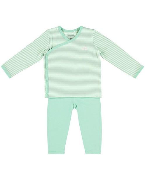 Set van longsleeve en legging - met maskerprint - Newborn