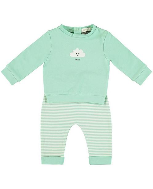 Set sweat et pantalon - imprimé de rayures - Newborn