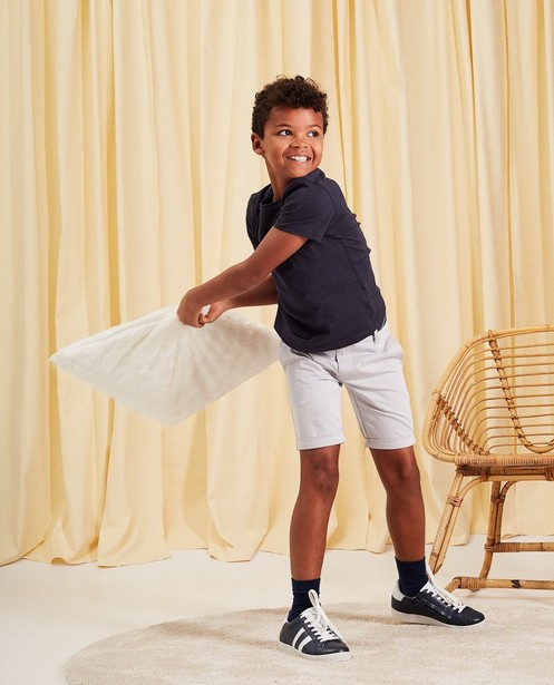 Short chino avec ceinture communion - look denim - JBC