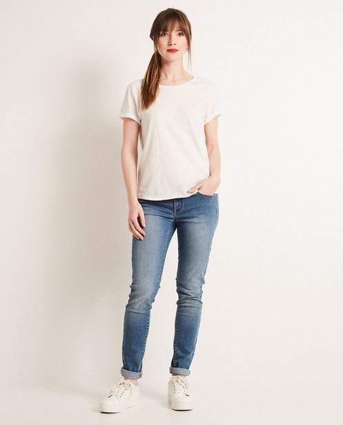 T-shirt à paillettes - en coton - JBC